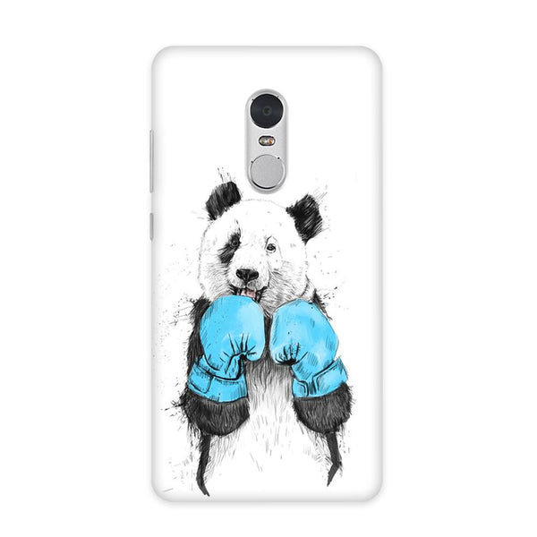Panda Boxer Case for Redmi Note 4