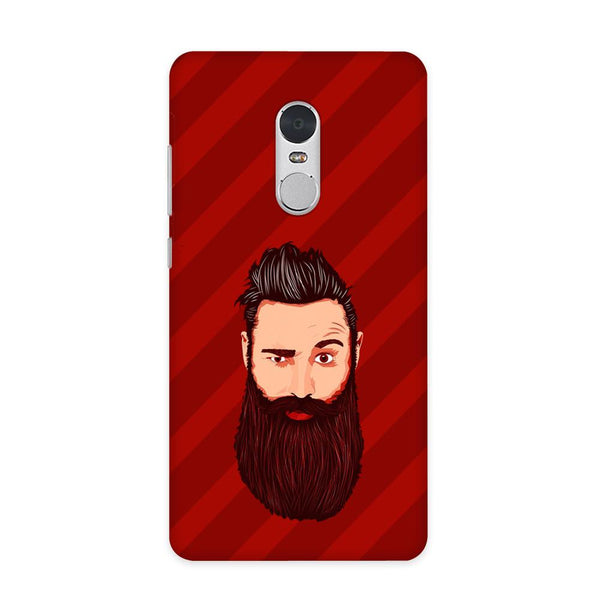 Grow A Beard Case for Redmi Note 4