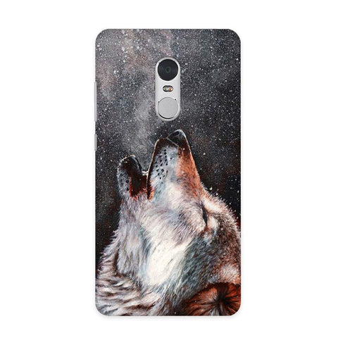 Winter Dog Case for Redmi Note 4