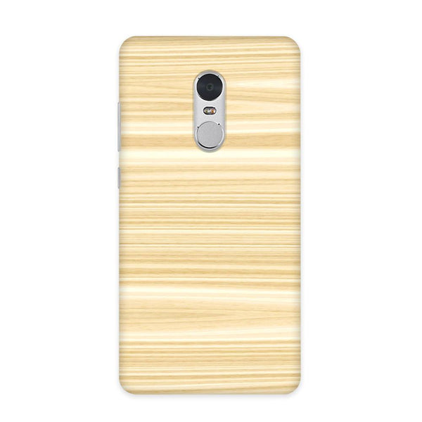 Wood Pattern Case for Redmi Note 4