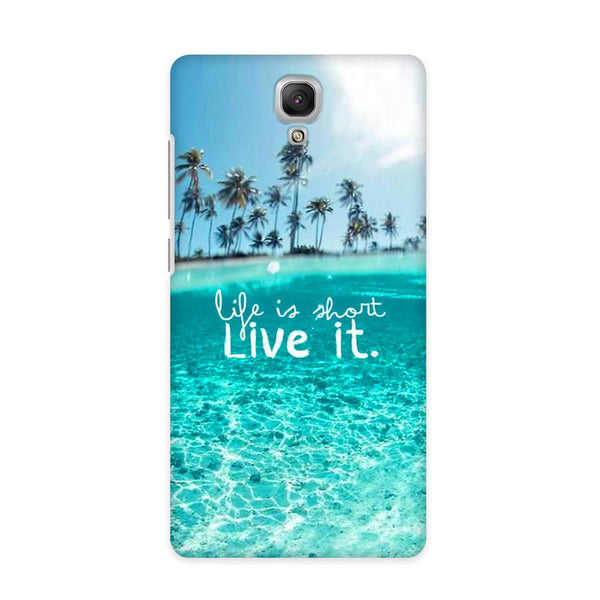 Live Your Life Case for Redmi Note 4G
