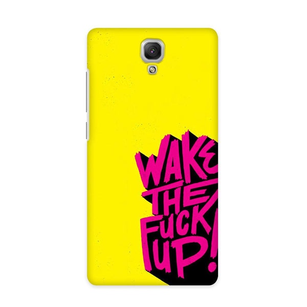 Wake Up Case for Redmi Note 4G
