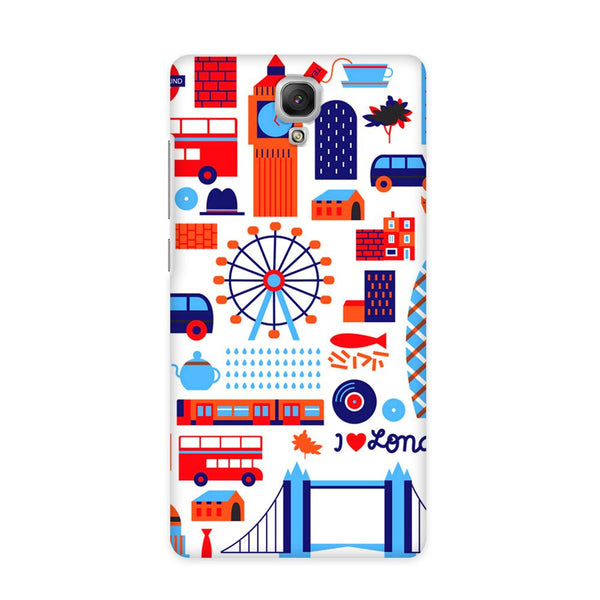 London Vintage Case for Redmi Note 4G