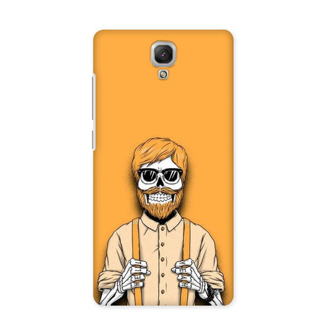 Painted Yellow Case for Redmi Note 4G