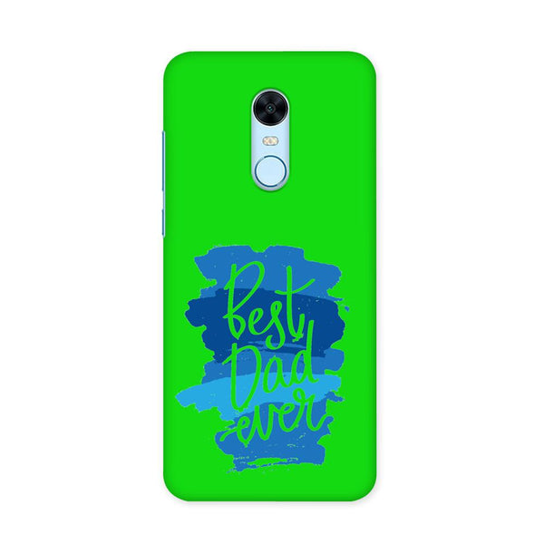 Best Dad Ever Green Case for Redmi Note 5