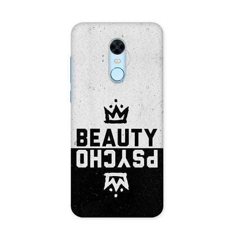 Beauty Psycho Case for Redmi Note 5