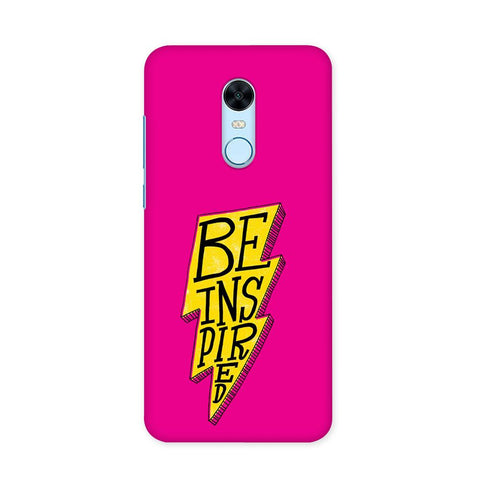 Be Inspired Case for Redmi Note 5