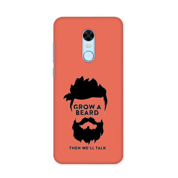 Beard Before Talks Case for Redmi Note 5