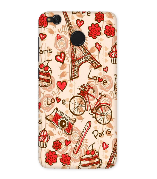 Paris Love Case for Redmi Note 5A