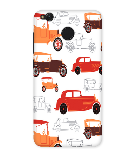 Vintage Wheels Case for Redmi Note 5A