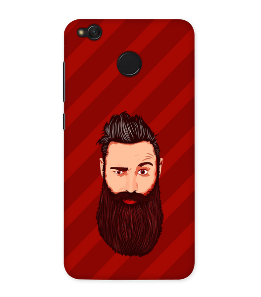 Grow A Beard Case for Redmi Note 5A