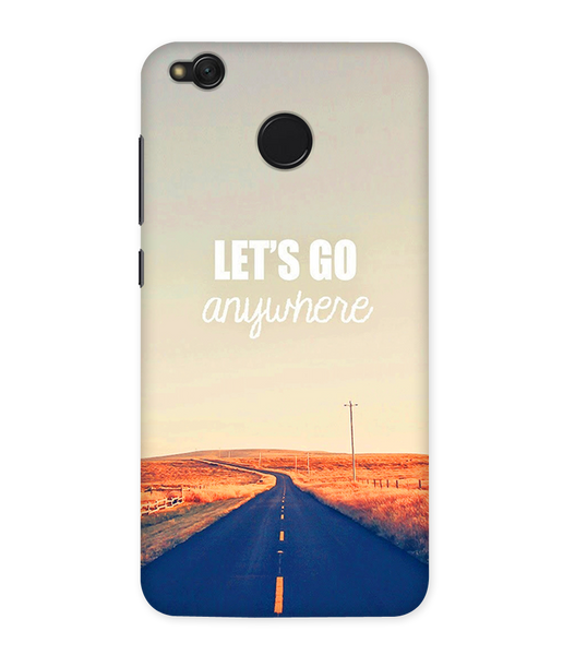 Lets Go Anywhere Case for Redmi Note 5A