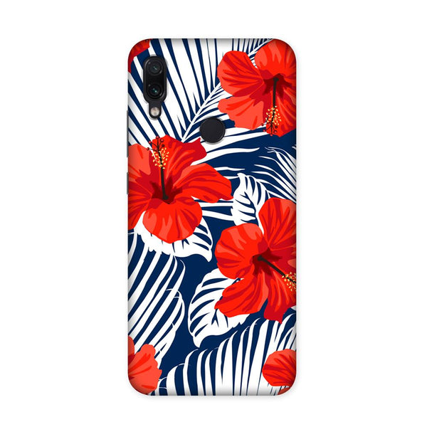 Red Blossom Case for Redmi Note 7