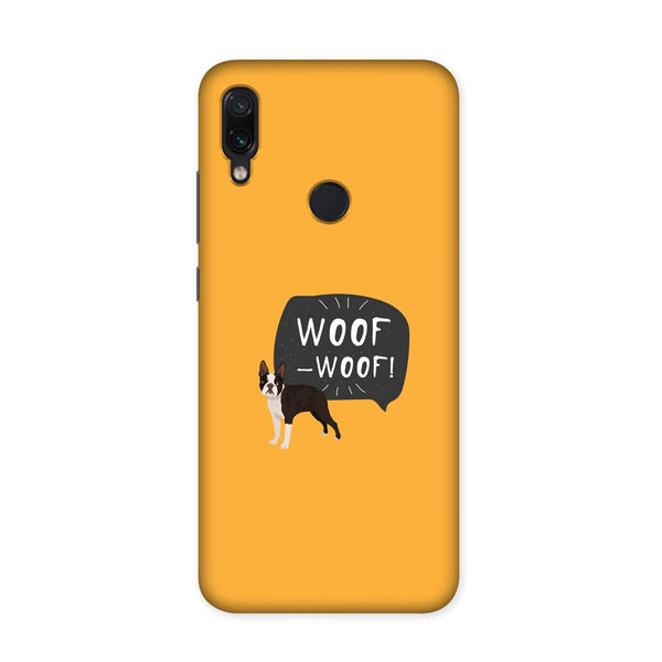 Woof Case for Redmi Note 7