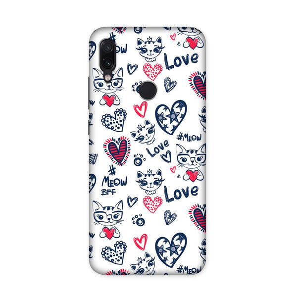 Love Doodle Case for Redmi Note 7