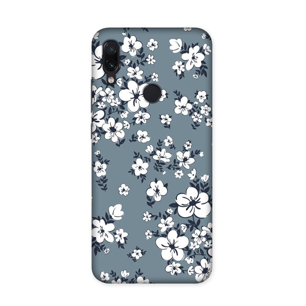 White Flower Case for Redmi Note 7