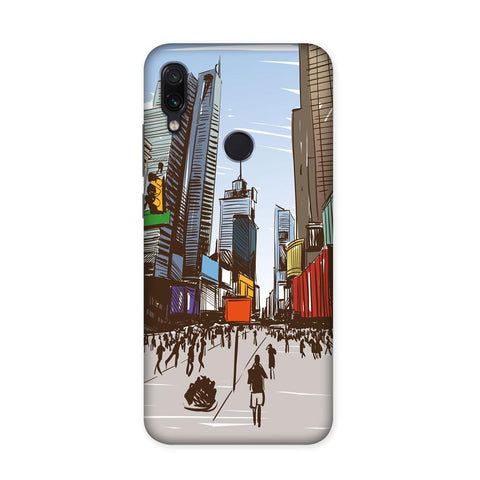City On The Canvas Case for Redmi Note 7