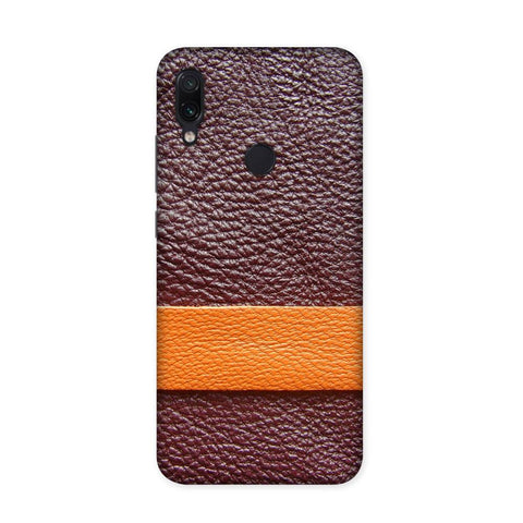 Pentin Leather Texture Case for Redmi Note 7