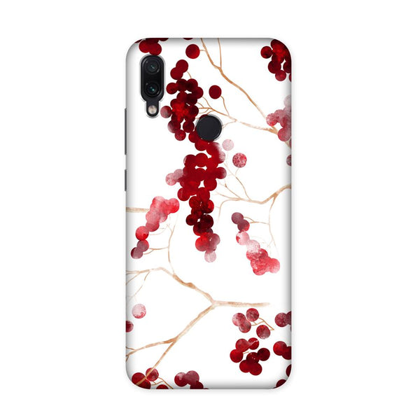 Red Berries Case for Redmi Note 7