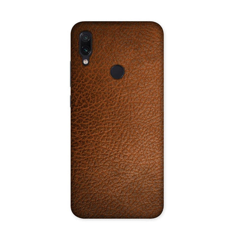 Coono Leather Texture Case for Redmi Note 7