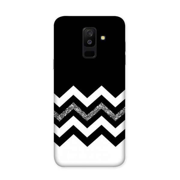 Monochrome Chevron Case for Samsung Galaxy J8