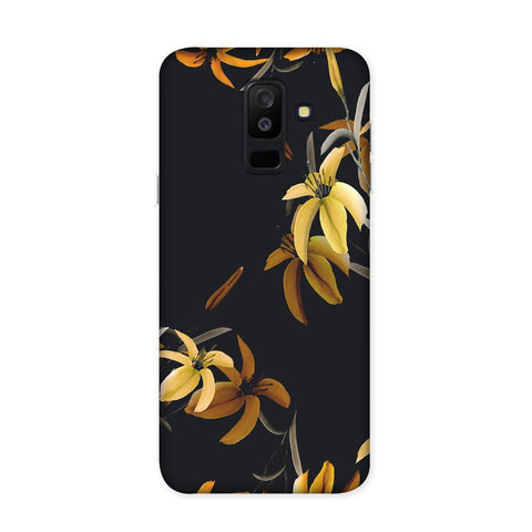 Yellow Flowers Case for Samsung Galaxy J8