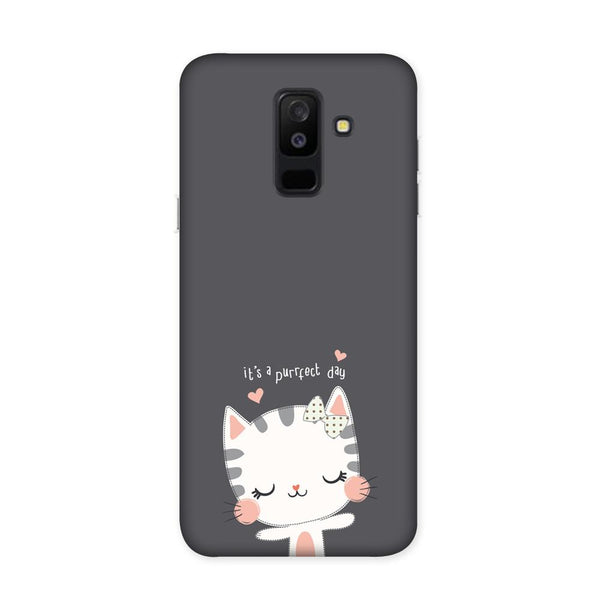 Purrfect Day Case for Samsung Galaxy J8