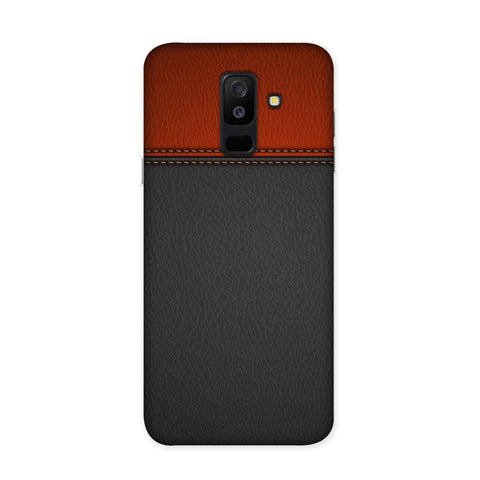 Duo Leather Texture Case for Samsung Galaxy J8