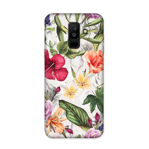 Zingy Flowers Case for Samsung Galaxy J8