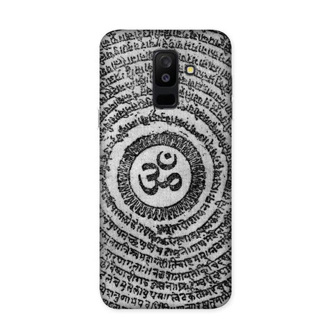 Om Shloka Case for Samsung Galaxy J8
