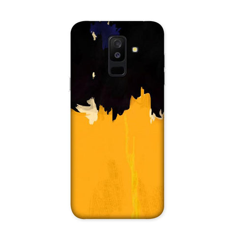 Yellow On Black Case for Samsung Galaxy J8