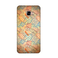 Travel Stamps 2 Case for Samsung Galaxy C7 Pro