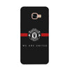 ManU Black Case for Samsung Galaxy C7 Pro