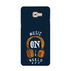 Music On World Off Case for  Samsung Galaxy C9 Pro 2016
