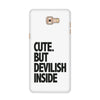 Devilish Inside Case for  Samsung Galaxy C9 Pro 2016