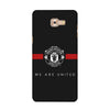 ManU Black Case for  Samsung Galaxy C9 Pro 2016