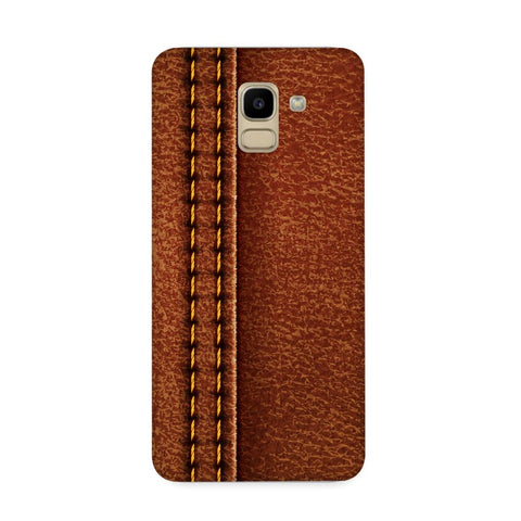 Leather Poru Texture Case for Samsung Galaxy J6