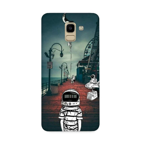 Astronaut Samuca Case for Samsung Galaxy J6