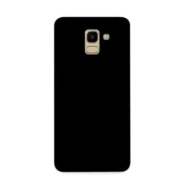 Solid Black Color Case for Samsung Galaxy J6