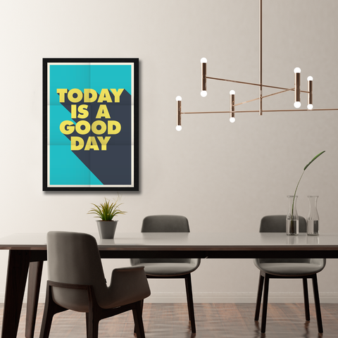 A Good Day Framed Wall Art - Portrait