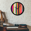Meeko Stripe Wall Clock
