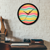 Floating Shades Wall Clock