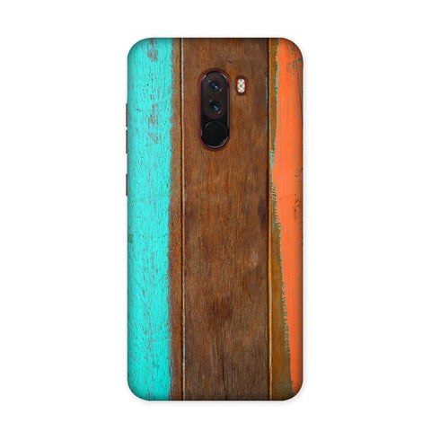 Planks Case for Xiaomi Poco F1