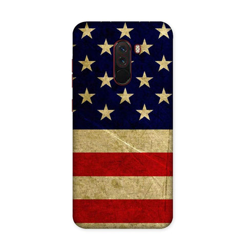 US Flag Case for Xiaomi Poco F1