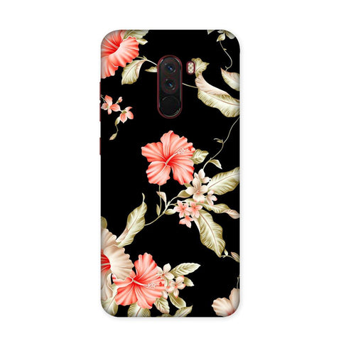 Dark Flower Case for Xiaomi Poco F1