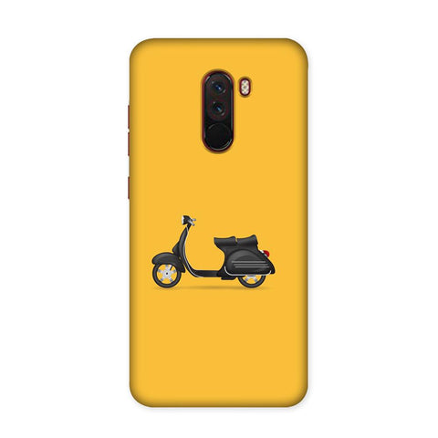 Vintage Two Wheeler Case for Xiaomi Poco F1