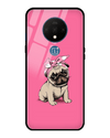 Pinky Pug Glass Case for OnePlus 7T