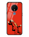 Red Clown Glass Case for OnePlus 7T
