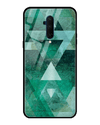 Vegenza Green Glass Case for OnePlus 7T Pro