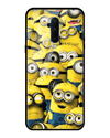 Minions Glass Case for OnePlus 7T Pro